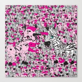 Yumm-EE & Zanby Canvas Print