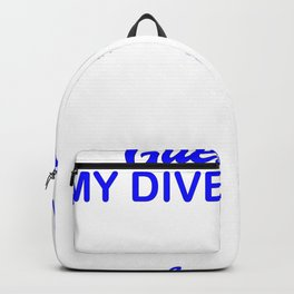 Guestbook divers party celebration Backpack