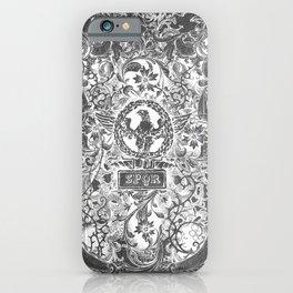 Ancient Rome SPQR iPhone Case