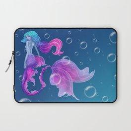 Pink Purple Mermaid Laptop Sleeve