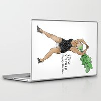 tina Laptop & iPad Skins featuring Tina Turnip by Pattavina