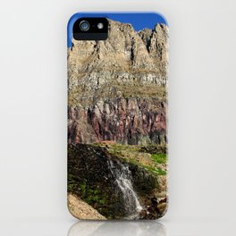 Clements Mountain Glacier National Park Nature Photography LCApplingPhotoArt iPhone Case