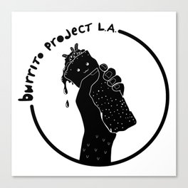 Burrito Project L.A. Canvas Print