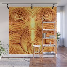 Pheonix Fire Temple Wall Mural