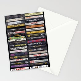 Old 80's & 90's Hip Hop Tapes Stationery Cards
