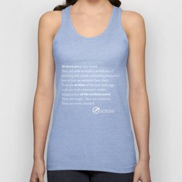 Scribe Write Minded  Unisex Tank Top