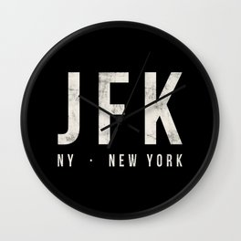JFK New York airport Wall Clock