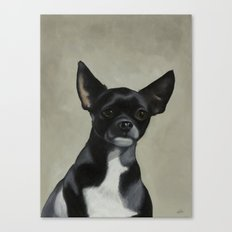 Jet the Dog Canvas Print