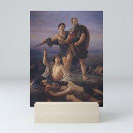 Death of King Saul, Elie Marcuse, 1848 Mini Art Print