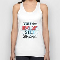 you are my sunshine Tank Tops featuring You Are My Sunshine by Oliver Lake
