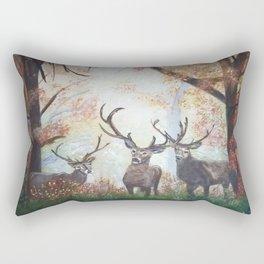 Morning Deer Rectangular Pillow