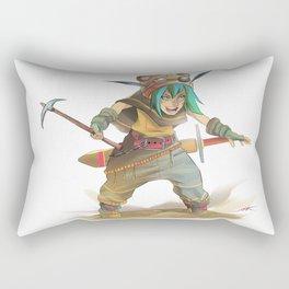 Steampunk Explorer Rectangular Pillow