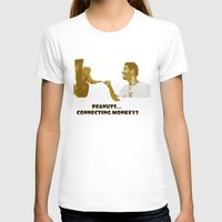 peanuts T-shirts featuring Peanuts connecting monkeys by Adiel Azrai