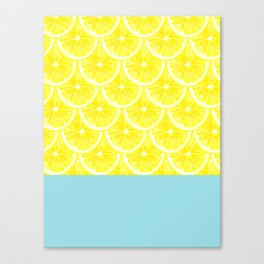 Zesty splice Canvas Print