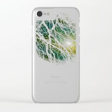 once upon a night Clear iPhone Case
