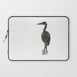 Grey Heron Laptop Sleeve