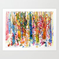 Watersplat - Series 1, 05 Art Print