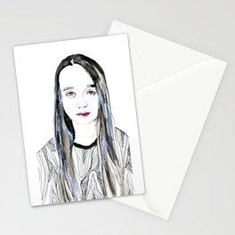 Into My Eyes Stationery Cards