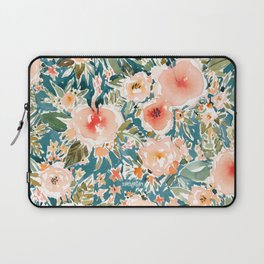 HIBISCUS NIGHTSWEATS Tropical Floral Laptop Sleeve