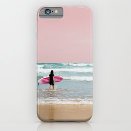Surfer Heads Out III iPhone Case