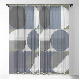 'Joy'metric Play Sheer Curtain