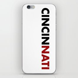 CINCINNATI iPhone Skin