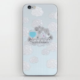 Cross-Section of a Cloud iPhone Skin