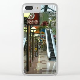 Auckland Shopping Mall Clear iPhone Case