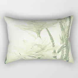 Glass flowers Rectangular Pillow