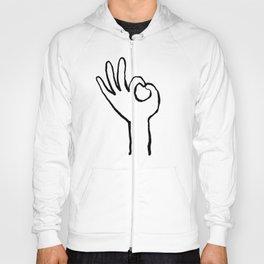 OK hand Hoody