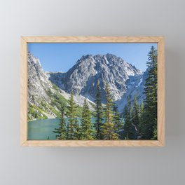 Blue Sky Over Enchantments Framed Mini Art Print
