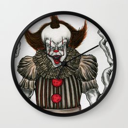 Pennywise The Dancing Clown Wall Clock