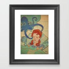 Aquatic nightmare Framed Art Print