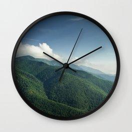 Mt Mitchell Wall Clock