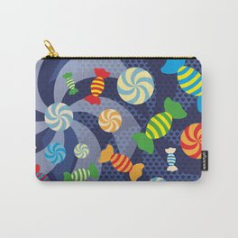 Rainbow Sugar Crush Carry-All Pouch