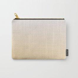 DESTINATION UNKNOWN - Minimal Plain Soft Mood Color Blend Prints Carry-All Pouch