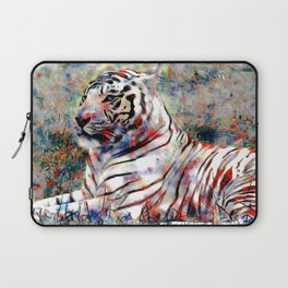 vibrant tiger Laptop Sleeve