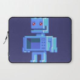 Magnetron pixel robot Laptop Sleeve