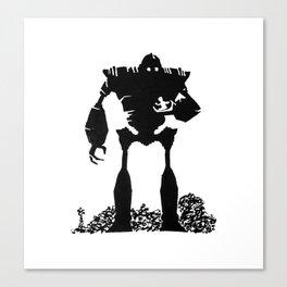 Iron Giant Canvas Print