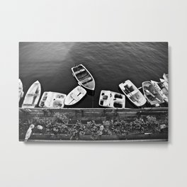 Boats & Coast Metal Print
