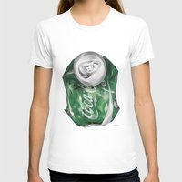 coca cola T-shirts featuring Coca-Cola Life by Kenny Risk