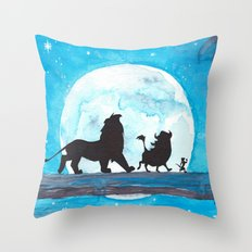 The Lion King Stencil Throw Pillow