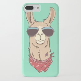 Hipster Llama IPhone Case