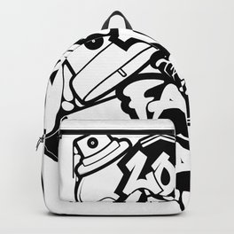 Long Life 2 The Fatcap [PAINTINMYVEINS] Backpack