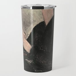Portrait of Dedie Hayde by Amedeo Modigliani Travel Mug