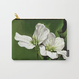 Beautiful white - Flora Azores Carry-All Pouch
