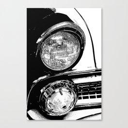 Vintage Car Taillights Canvas Print