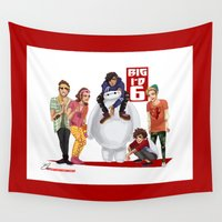1d Wall Tapestries featuring Big 1D 6! by justsomestuff