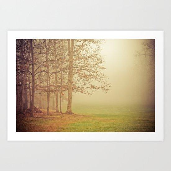 Autumn Whisper Art Print