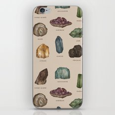 Gems and Minerals iPhone & iPod Skin